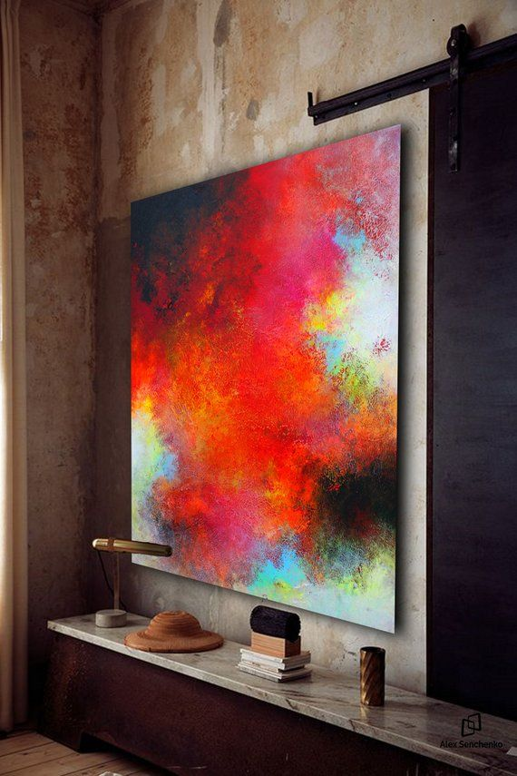 Largewall Art Original Abstract Painting For Decor Contemporary Wall Modern Extra Large On Canvas In 2018