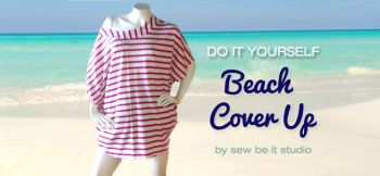 Beach cover up by It's sew dilys