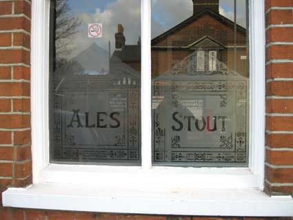 frosted windows pub - Google Search