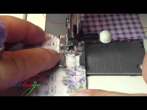How to Sew Hexagons By Machine for Grandmother's Flower Garden.  By inkling