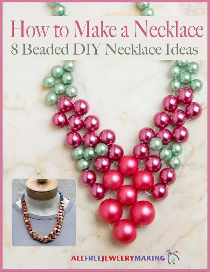 105 best magazine jewelry images on pinterest journaling file how to make a necklace 8 beaded diy necklace ideas free ebook fandeluxe Images