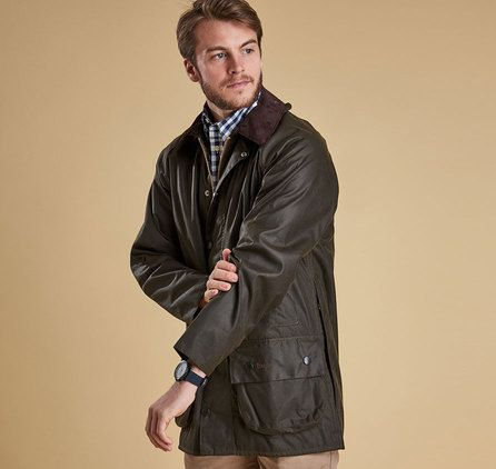 Barbour CLASSIC BEAUFORT WAX Jacka – Olive. Barbour Jacka Herr Online, Barbour Outlet Online, Barbour Clearance Sale