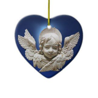 ANGEL / Baby's First Christmas Photo Template Christmas Tree Ornament