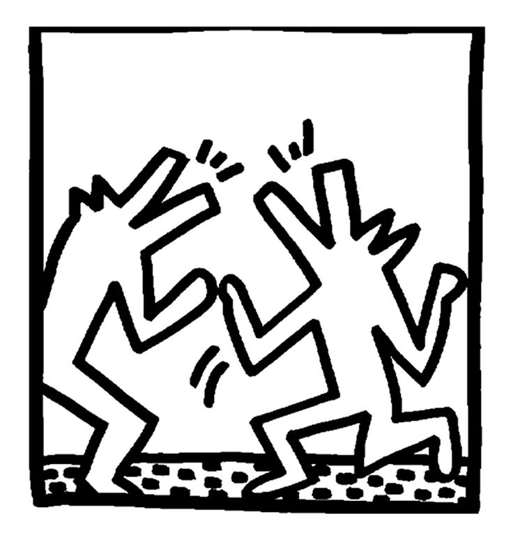 Hervorragend 119 best ARTISTA: KEITH HARING images on Pinterest | Keith haring  QF35