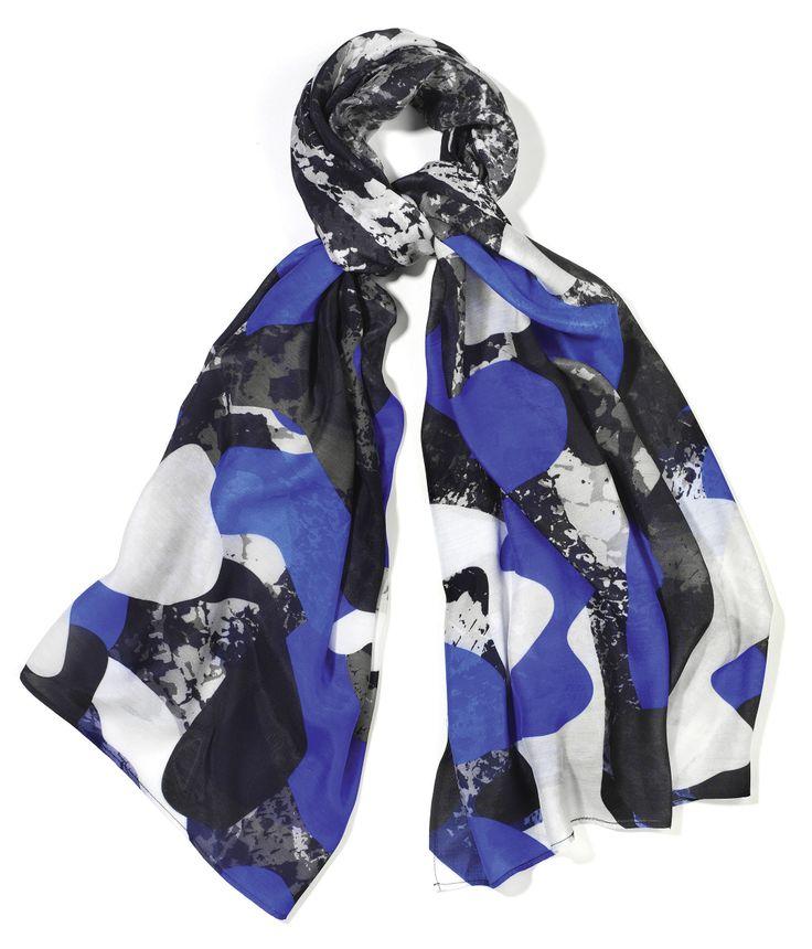 Cobalt £24.99 http://www.lushscarves.com/collaborations/cobalt-blue-camo.html