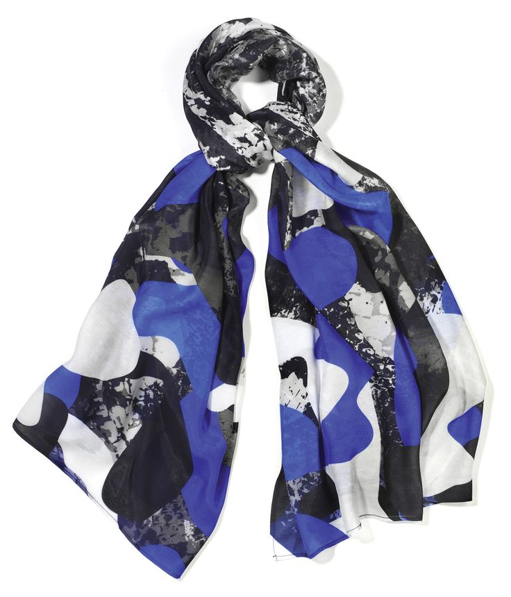Cobalt £24.99 http://www.lushscarves.com/collaborations/cobalt-blue-camo.html