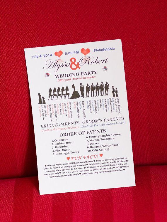 Best 25+ Ceremony programs ideas on Pinterest Wedding program - wedding program
