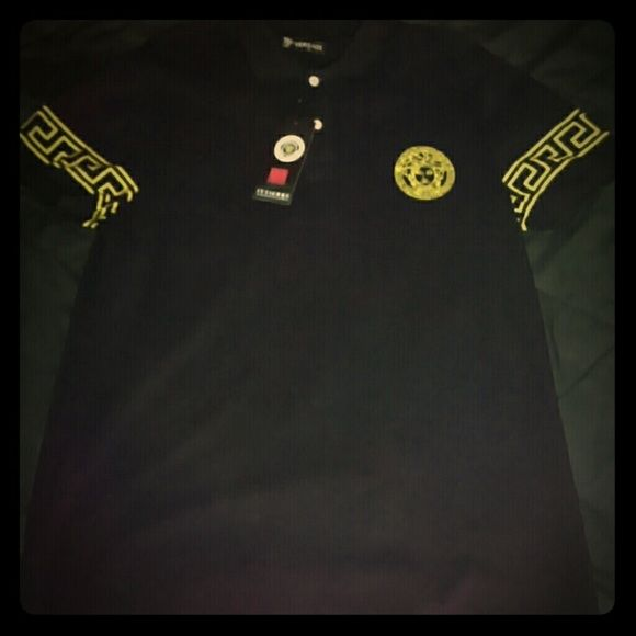 Men's Versace shirt obo New with tags Versace t-shirt Versace Tops Tees - Short Sleeve