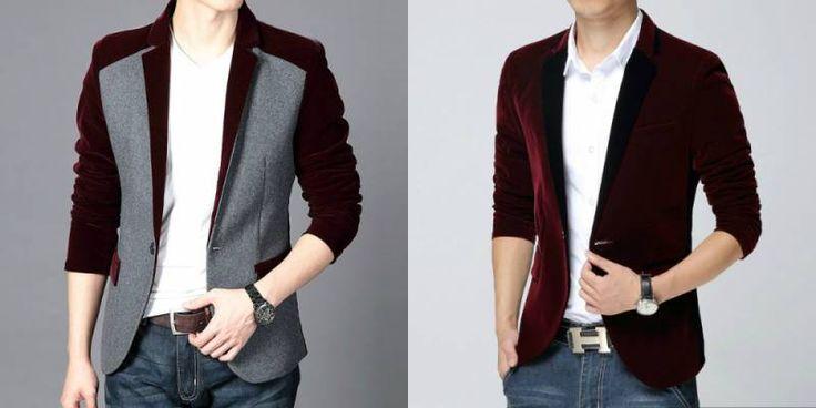 Мужской бархатный пиджак: коллекция модных фасонов