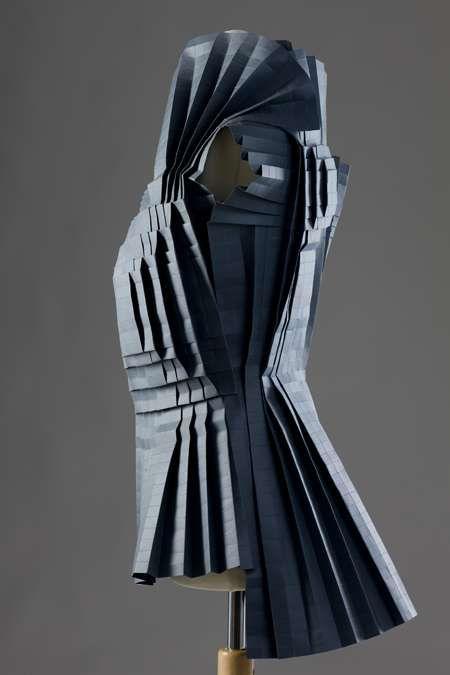 Morana Kranjec's Folded Paper Dresses