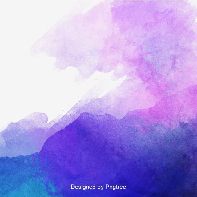 Watercolor Background Abstract Background Purple Png Transparent