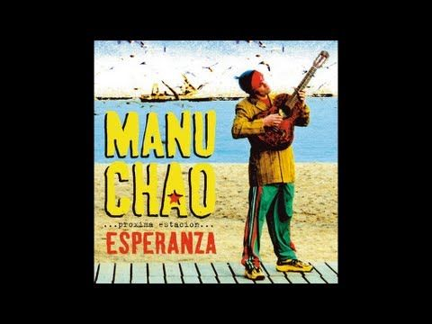 "Manu Chao, ""Me Gustas Tú"" and that this was one of the first songs played when I traveled on my dissertation research back in the day when a student at the University of Chicago.  It makes me think of long bus rides between archives."
