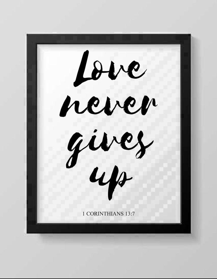 Download Love Never Gives Up Printable SVG / PNG /JPG Image / Love ...