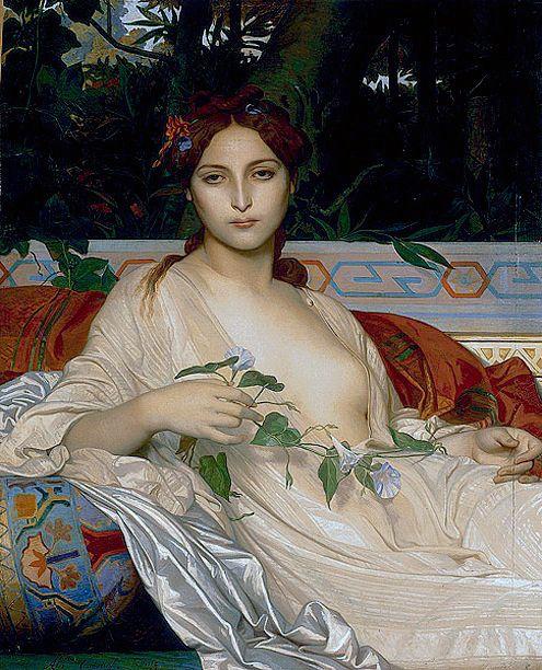 """Alexandre Cabanel """"Albayde"""" 1848"""