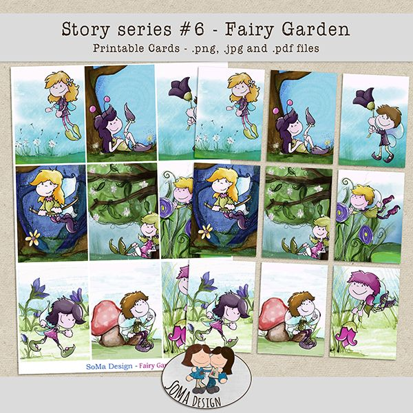 SoMa Design: Fairy Garden - Cards