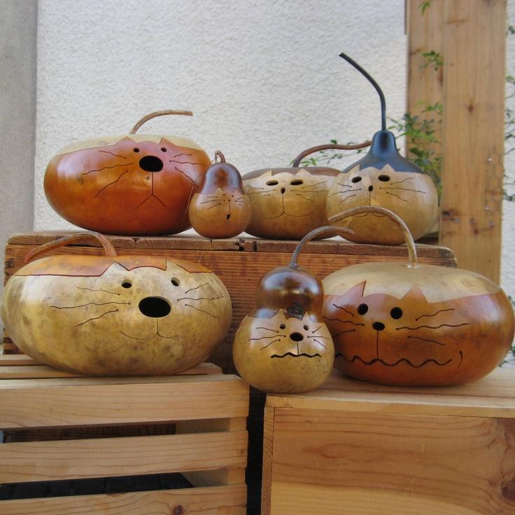 Decorative Gourd Art Crafts Ideas