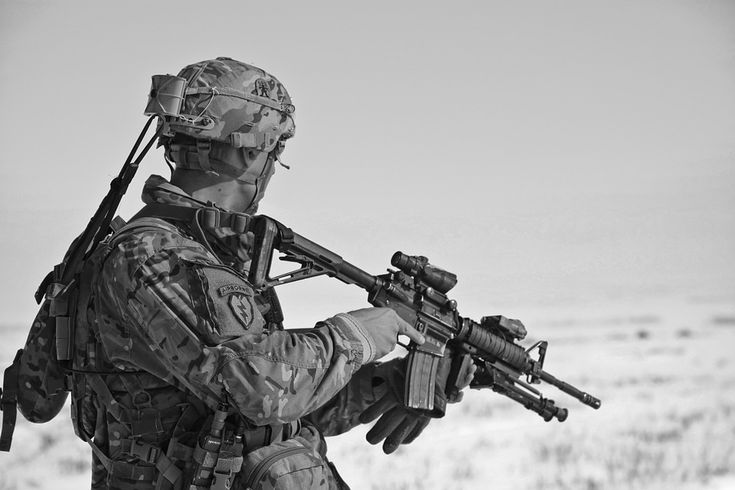 Free stock photo: Uniform, Army, Military, Gun - Free Image on ...