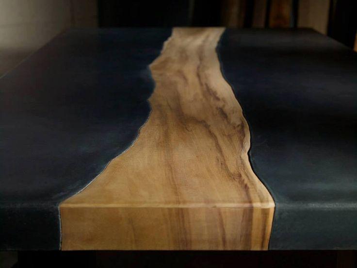 Мебель из бетона! Почему бы и нет! Бетон + дерево = стол Бетонная мебель обладает множеством достоинств: она долговечна, дешева в производстве, экологична, подходит и для дома, и для сада. Но её главная добродетель выше быта — увидеть в бетоне материал для производства мебели способны дизайнеры-новаторы.