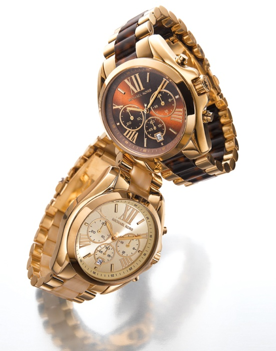 Resort: A new time zone Michael Kors #watch #chronographs #gold #macys BUY NOW!