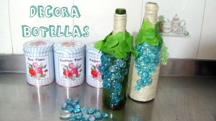 https://www.youtube.com/watch?v=a70twhD86Wg Estás buscando ideas de cómo decorar botellas de vino? Viniste al lugar indicado.