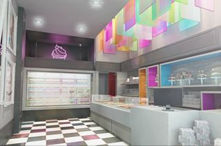 Render 3D Dely Cupcakes