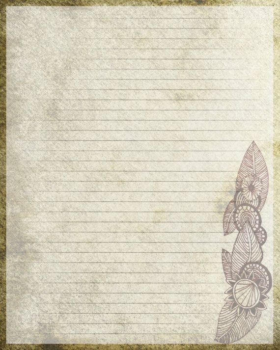 454 best Blank Pages\/Writing Paper\/Stationery images on Pinterest - diary paper template