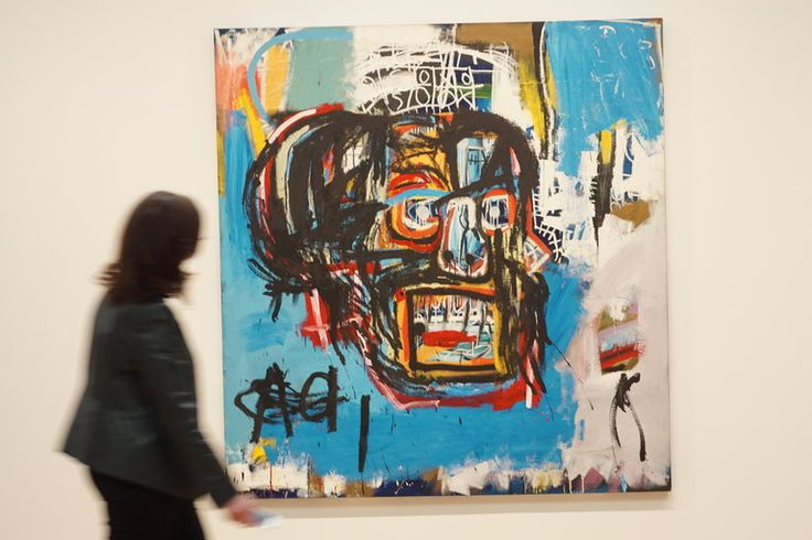 Basquiat Painting Is Sold for $110.5 Million at Auction - The New York Times