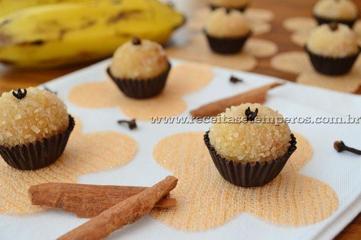 Delicioso brigadeiro de banana, com gostinho de canela. Uma combinação perfeita... A receita é prática e deliciosa. Confira! Leia mais...