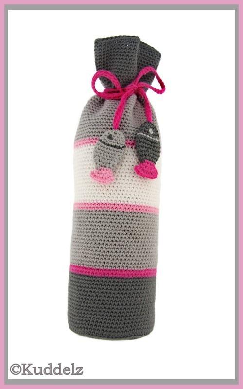 Crochet Bottle Cozy - Picture Idea
