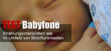 """ÖKO-TEST Babyfone – Hohe Strahlung im Kinderzimmer – sechs mal """"ungenügend""""  Strahlungsintensitäten wie im Umfeld von Mobilfunkmasten – Die Hälfte der getesteten Geräte gehört nicht in Babys Nähe, so ÖKO-TEST  http://www.cleankids.de/2014/10/06/oeko-test-babyfone-hohe-strahlung-im-kinderzimmer-sechs-mal-ungenuegend/50001/"""