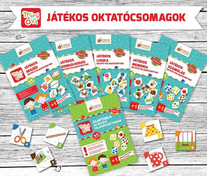 Mini Ovi oktató feladatkártyák www.okosovisok.hu