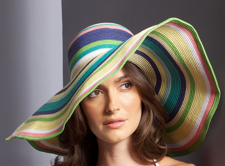 Sapphire Sun Hat in Sorbet HAT07 gotta protect that skin out in that beautiful california weather #holtspintowin