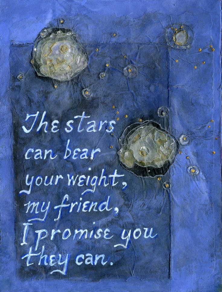 Stars can bear your weight | by Carol Wiebe