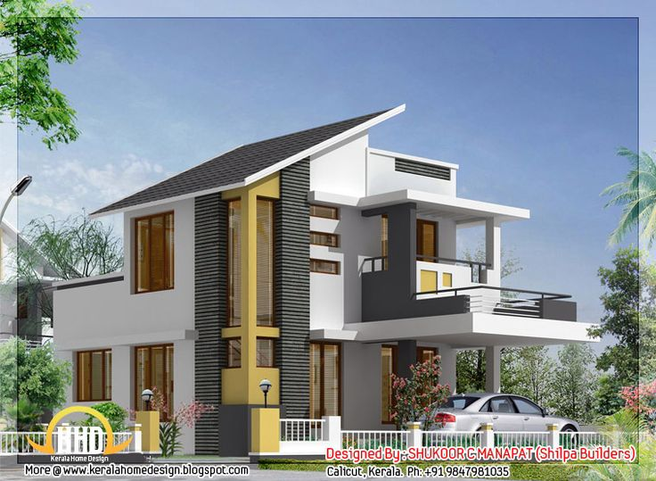 111 best images about beautiful indian home designs on for Modern 3 bedroom house plans and designs