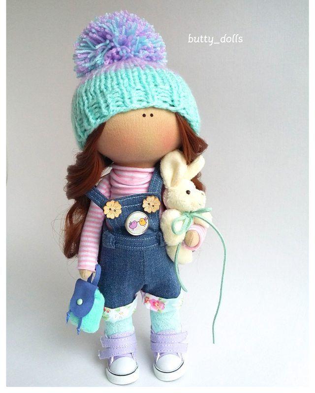 """200 Me gusta, 6 comentarios - Интерьерные куколки (@butty_dolls) en Instagram: """"Заказ☺ #интерьернаякукла #авторскаякукла #текстильнаякукла #коллекционнаякукла #авторскаяработа…"""""""