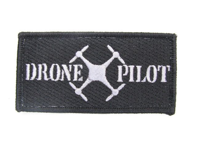 DJI Phantom Drone Inspire Mavic Pilot RC Radio Control Quad Copter Helicopter Patch Badge Velcro New by MilitaryMahogany on Etsy