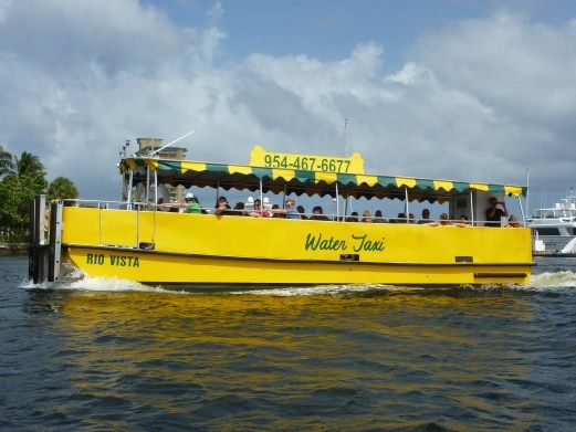 Water Taxi, Ft Lauderdale