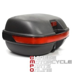 TOPBOX Motorcycle Top Luggage Box Case 37 LITRE for Yamaha YBR125 Custom