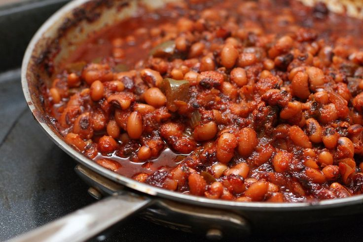 Get the recipe: baked barbecue black-eyed peas                   Image Source: POPSUGAR Photography / Anna ...