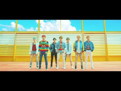 """BTS - DNA   The visuals are really acid trip type beautiful and tricky. And why do I hear/get a """"King Of Pop"""" vibe from this song. #∆∆shani"""