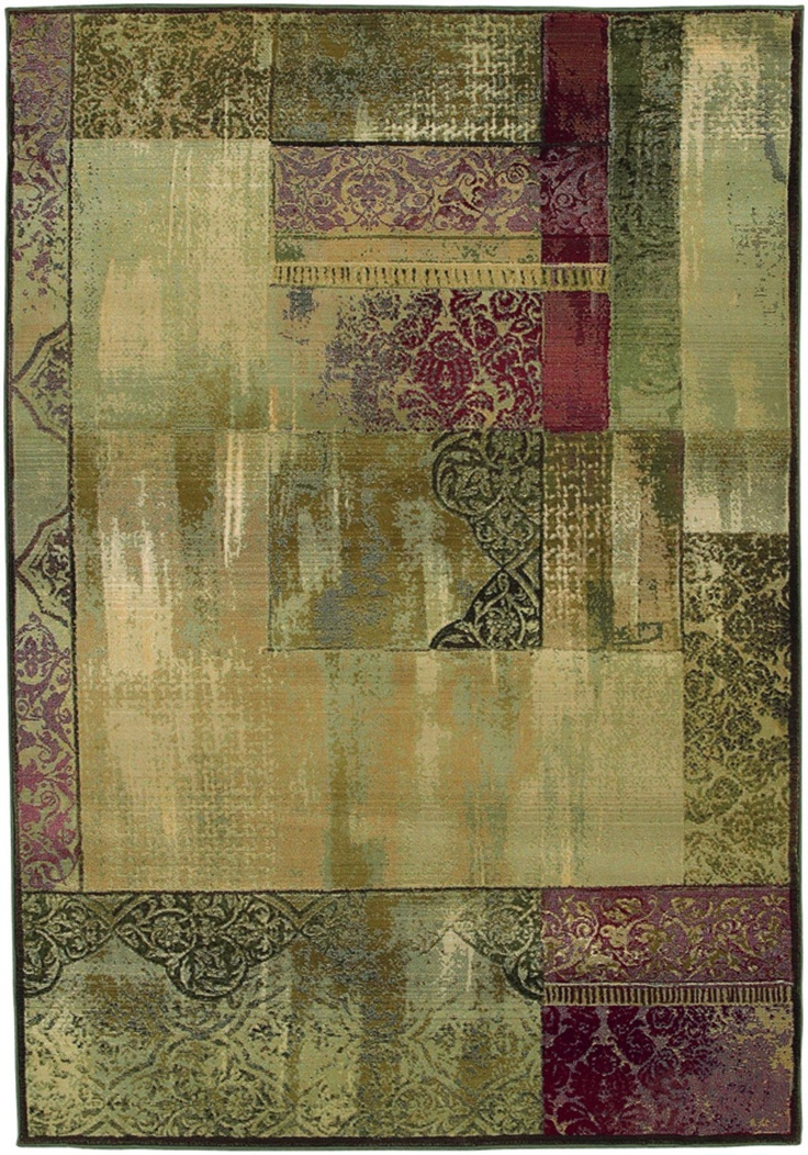 Sphinx By Oriental Weavers Generations Collection 1527X Casual Green Rug