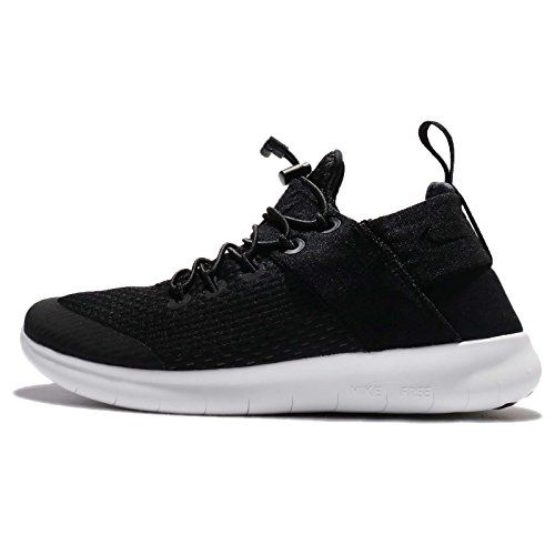 Nike Womens Free RN Commuter 2017 Running Shoe 9 BlackBlackAnthraciteOff  White ** Read more reviews