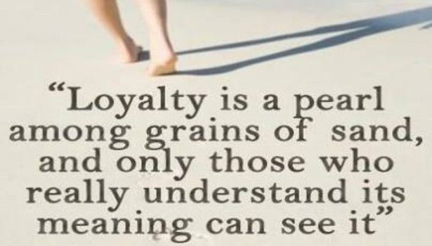 17 Best Quotes About Loyalty On Pinterest