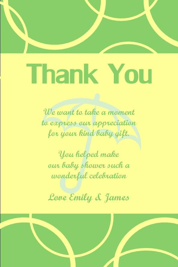14 best baby shower thank you cards images on pinterest