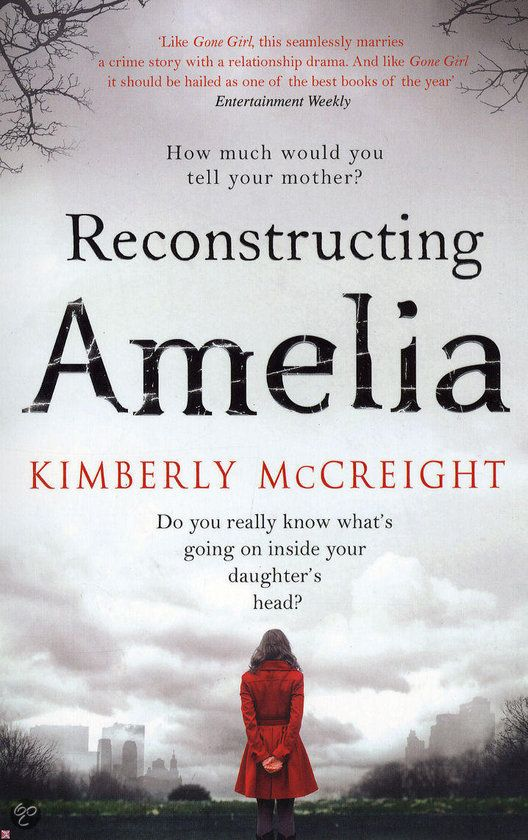 Reconstructing Amelia... such an AMAZING book about bullying and what parents really don't know about their own children.