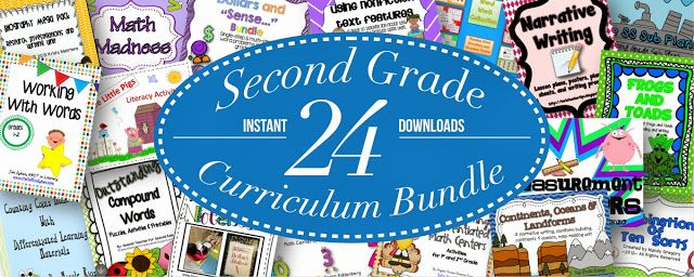 It's Here! An Educents Bundle for Second Grade!