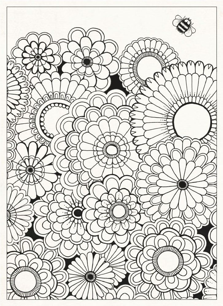 Garden Coloring Book Coloring Book Adult Colouring Books