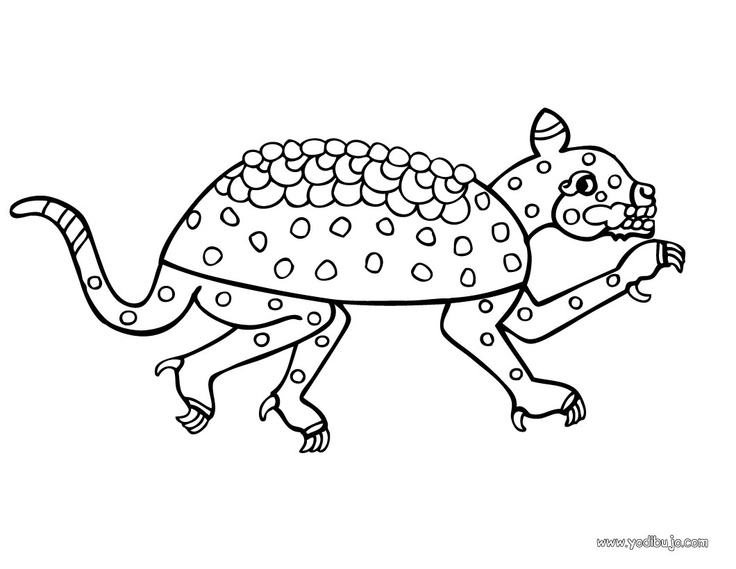 Armadillo Coloring Page. Color Online This Armadillo Coloring Page And Send  It To Your Friends. There Are So Many Different Ways To Color It.