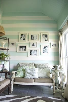 the little grey cottage: Painted Ceilings