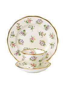 View product Royal Albert 100 years 1920 spring meadow 3 piece set